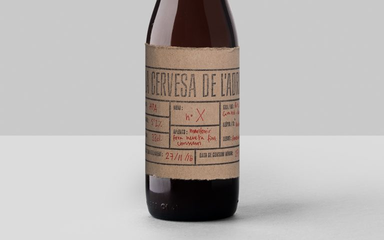 Beer-label-design-Cervesa-Adrià