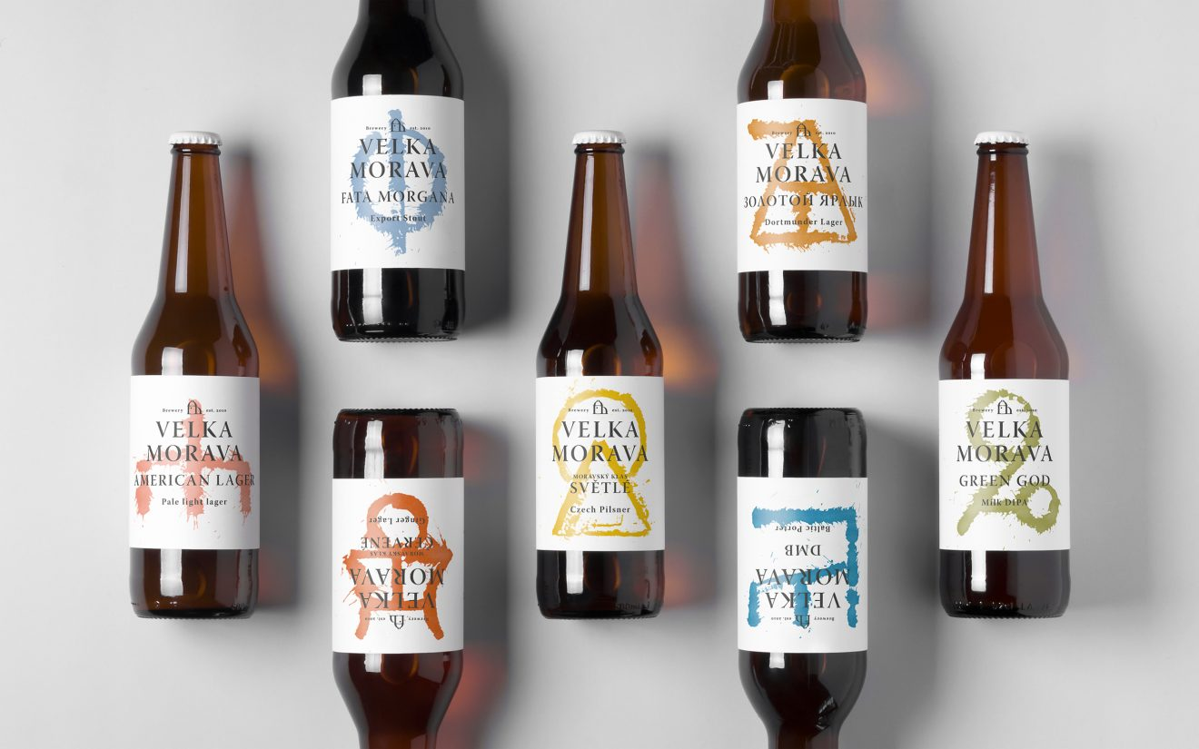 Velka-Morava-bottle-packaging-design